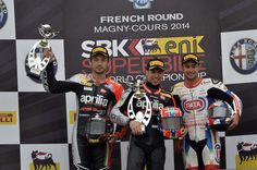 Melandri edges out Guintoli for the win in Race 2 - http://superbike-news.co.uk/wordpress/Motorcycle-News/melandri-edges-guintoli-win-race-2/