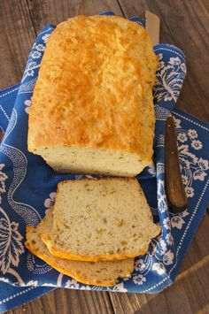 Herbed Garlic Bread - no yeast, no rising - if I had some buttermilk I would make this tonight.