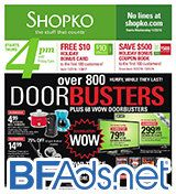We just posted the 68-page Shopko Black Friday ad scan!