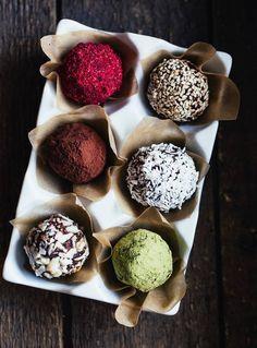 Energy balls noisettes cacao / recette minceur / healthy food