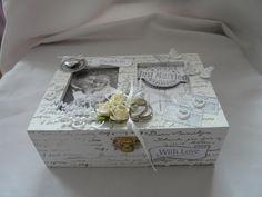 Geldgeschenk Hochzeit  Schachtel Deko von Plan B auf DaWanda.com