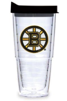 Tervis Boston Bruins Individual 24Oz Tumbler Cup With Lid 24 Ounces by Tervis Tumbler. Save 4 Off!. $23.99. Feeling a little parched after cheering on your team? Quench your thirst with this 24-oz NHL® tumbler from Tervis Tumbler®. Each one features a double-wall construction that reduces condensation and keeps drinks colder longer. An embroidered logo is positioned between the inner and outer walls.