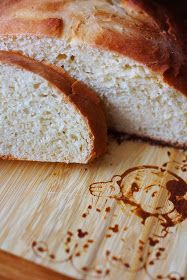 """Made this sometime early June. It was my first time baking with yeast! The bread had a wonderful taste to it! The texture was slightly off thou, somewhat """"heavy."""" Will def make again thou!"""