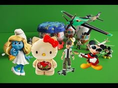 Surprise Eggs Disney Collector Mickey Mouse Ben 10 Hello Kitty Kinder Su...