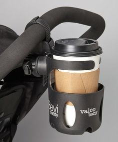 Bevi Buddy Universal Cup Holder by Valco Baby on #zulily today! To heck with a stroller! I want it for my wheelchair!!!