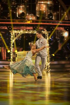 SCD week 8. 2016. Claudia Fragapane & A J Pritchard. Vienniese Waltz. Credit: BBC / Guy Levy