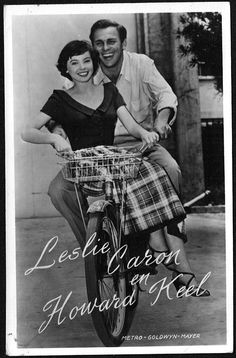 Leslie Caron/Howard Keel 1950s DUTCH Takken Postcard #AX688 Film/Movie Stars | eBay