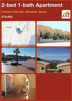 2-bed 1-bath Apartment in Cumbre Del Sol, Alicante, Spain ►€79,950 #PropertyForSaleInSpain