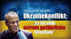 """Ukrainekonflikt: """"Es ist eine extrem gefährliche Situation"""" (Interview) ..."""