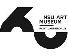 About the Museum - NSU Art Museum Fort Lauderdale Graphic Design Branding, Corporate Design, Typography Inspiration, Logo Design Inspiration, Web Design, Type Logo, Logos, Japan Logo, Anniversary Logo