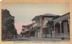 calle Beller. 1904.vista desde la calle Separacion.