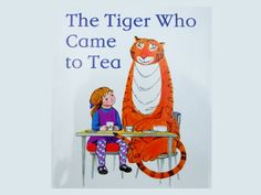 The Tiger Who Came to Tea by Judith Kerr review and range of related activities and resources from damsonlane.com