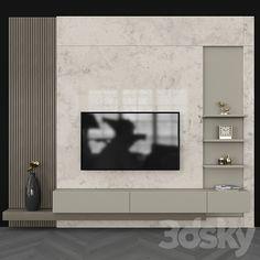 Study Room Design, Tv Wall Design, Home Room Design, Shelf Design, Tv Unit Decor, Tv Wall Decor, Tv Wall Furniture, Tv Unit Interior Design, Feature Wall Living Room