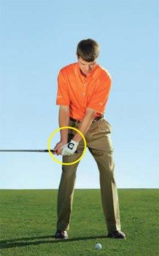 The club and arms swing first, before the body. Shoulder turn comes from the club's momentum.