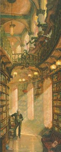 The Steampunk Home: Library and Air Ship of Genomo