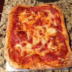 Homemade Sicilian Pizza