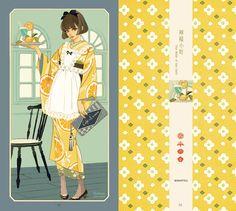 着物女子必見!現代の美人画家、イラストレーター・マツオヒロミさんによる着物美人画 | 着物美人公式ウェブサイト -KIMONO BIJIN-