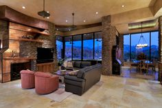 Southwest Contemporary 645 - traditional - living room - other metro - by Soloway Designs Inc.