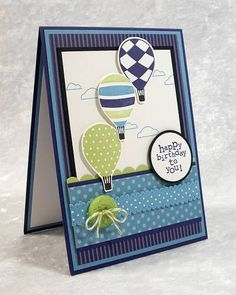 Up, Up and Away by stampinandstuff - Cards and Paper Crafts at Splitcoaststampers