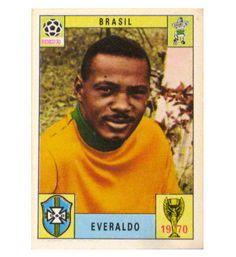 Panini Mexico 70 Karte Everaldo