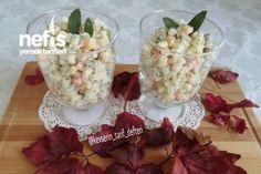 Kaşık Kaşık Yediren Makarna Salatası Tarifi