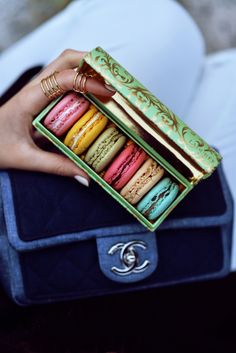 Laduree macarons & Chanel