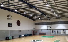 City of Hornsby Sporting Centre lit by 150W LED Hi-Bays. Bright, White and Cost Saving! #LED4Life #whitelight