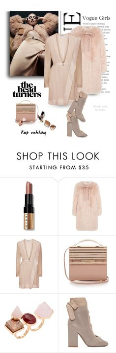 """She turns heads with all her clothes on .. imagine that"" by blonde-bedu ❤ liked on Polyvore featuring Bobbi Brown Cosmetics, Miu Miu, Eddie Borgo and Valentino"