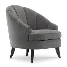 Modern Luxury Club Chair with Channel Back / Homer