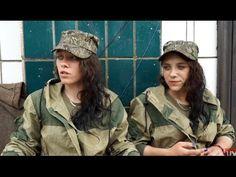 Guerra na Ucrânia - Gêmeas combatentes na milícia da Novarrússia