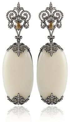 statement earrings. Simply stunning.