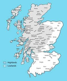 Clan Map The Reasons for the Scottish Migration to Ireland