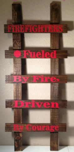 Firefighter Decor ideas and photos for those warrior Fighting with