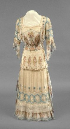 Afternoon dress | Girolamo Giuseffi | American | 1920 | silk chiffon | Indianapolis Museum of Art | Accession #: 1986.403