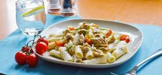 Looking for a quick and truly yummy dish to try? Check out our Creamy Mackerel Pasta