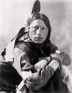 Joseph Two Bulls, Dakota Sioux, by Heyn & Matzen Photo, 1900