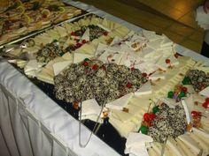 Wedding buffets. Destination weddings, experienced wedding planners. Odyssey weddings: we plan your dream wedding!