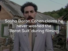 20 VERY NICE facts about comedy genius Sacha Baron Cohen and his films (20 Photos)