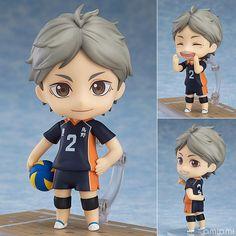 AmiAmi [Character & Hobby Shop] | Nendoroid - Haikyuu!! Third Season: Koshi…