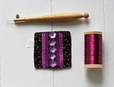 Custom'patch carré rose , patch carré , patch rose , écusson carré , écusson rose , patch fleur , cadeau pour elle , cadeau pour une amie de la boutique Heollene sur Etsy