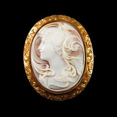 Women in their 20s need to start wearing Brooches. Cameo style are perfect for younger women.