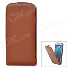 Color: Brown; Brand: N/A; Model: a-335; Material: Second layer sheepskin; Quantity: 1 Piece; Compatible Models: Samsung Galaxy S4 i9500; Other Features: Protects your device from scratches, dust and shock; Packing List: 1 x Protective case; http://j.mp/VAB8QR