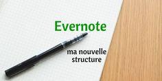 Nous avons déjà abordé dans le billet sur carnets et étiquettes certains conseils de classement destinées à optimiser votre usage quotidien d'Evernote. Ces conseils, je les ai écrits,