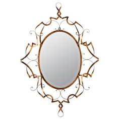 Carter Antique Gold Beveled Mirror Cooper Classics