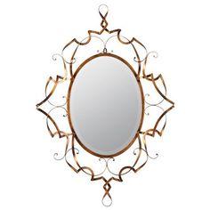 Carter Antique Gold Beveled Mirror Cooper Classics