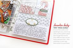Ali Edwards | Blog: December Daily® 2015 | Day One