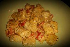 Gnocchi mit Paprikarahmsauce 10