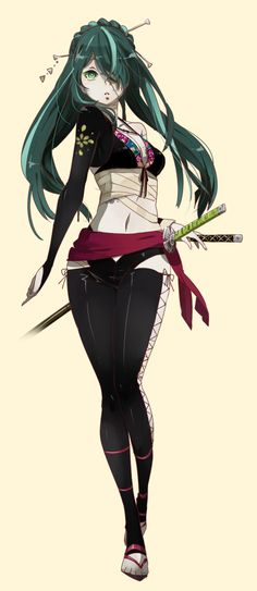 Oh we need Hatsune Miku in something cool like this....or is that supose to be her -squints- lol