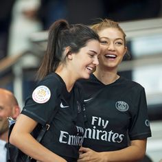 Kendall & Gigi Get Sporty - Kendall Jenner and Gigi Hadid took a break from the runway to take in asoccer game and wore the cutest matching crop tops. Talk about friendship goals.