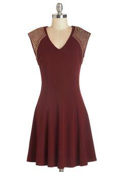 Runway Rock Show Dress.  #red #modcloth